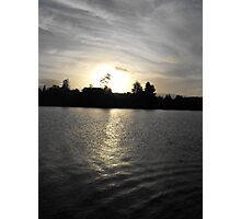Sunset Over The Manning River Photographic Print