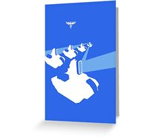 Panels Charged Greeting Card