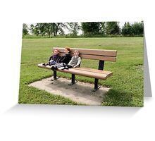 Boys Day Out Greeting Card
