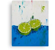 Naming of the Lime Canvas Print