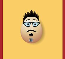 Avengers - Tony Stark Egg by frogphotography