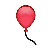 Balloon Apple / WhatsApp Emoji by emoji