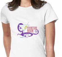 MARTINI HOUR Womens Fitted T-Shirt