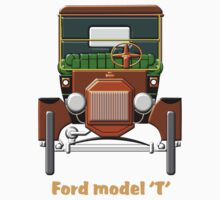 1908 Cabriolet Ford Model design Kids Clothes