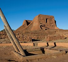 Pecos Mission Ruins by Mitchell Tillison