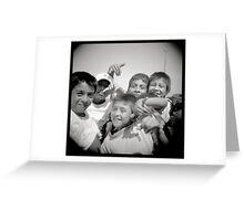 Peruanitos Greeting Card