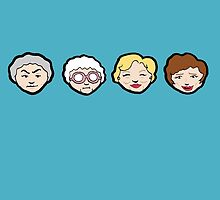 Emoji Golden Girls by BeaADay