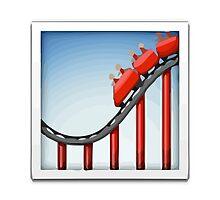 Roller Coaster Apple / WhatsApp Emoji by emoji