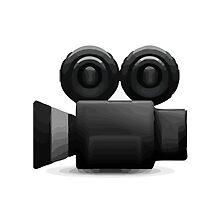 Movie Camera Apple / WhatsApp Emoji by emoji