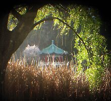 TTV Pagoda at Stow Lake by Tama Blough