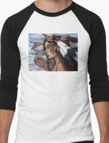 Sky Woman Iroquois Mother Goddess Men's Baseball ¾ T-Shirt