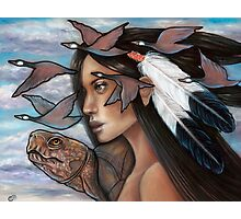 Sky Woman Iroquois Mother Goddess Photographic Print