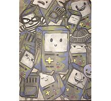 The many faces of bmo! Photographic Print