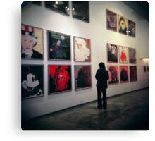Warhol's Canvas Print