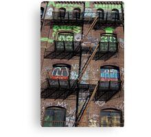 Williamsburg No.10 Canvas Print