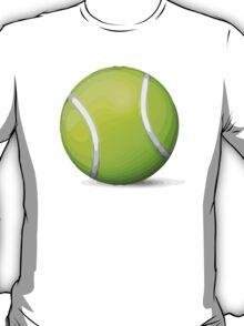 Tennis Racquet And Ball Apple / WhatsApp Emoji T-Shirt