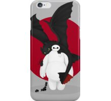 baymax and toothless iPhone Case/Skin