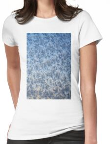 Winter frosted glass 3 Womens Fitted T-Shirt