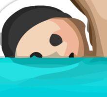 Swimmer Apple / WhatsApp Emoji Sticker