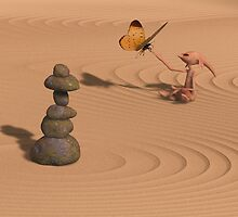 A Little Bit of Zen by tikirussy