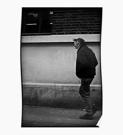 He Walks Poster