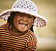 Bolivian smile by Anthony Begovic
