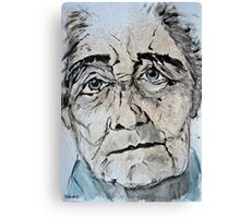 elderly lady 1 Canvas Print