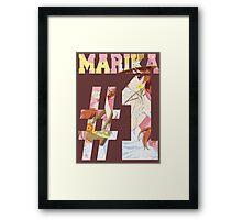 Marika Best Girl Framed Print