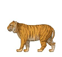 Tiger Apple / WhatsApp Emoji by emoji