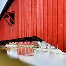 Covered Bridge at Bridgeton by Kenneth Keifer