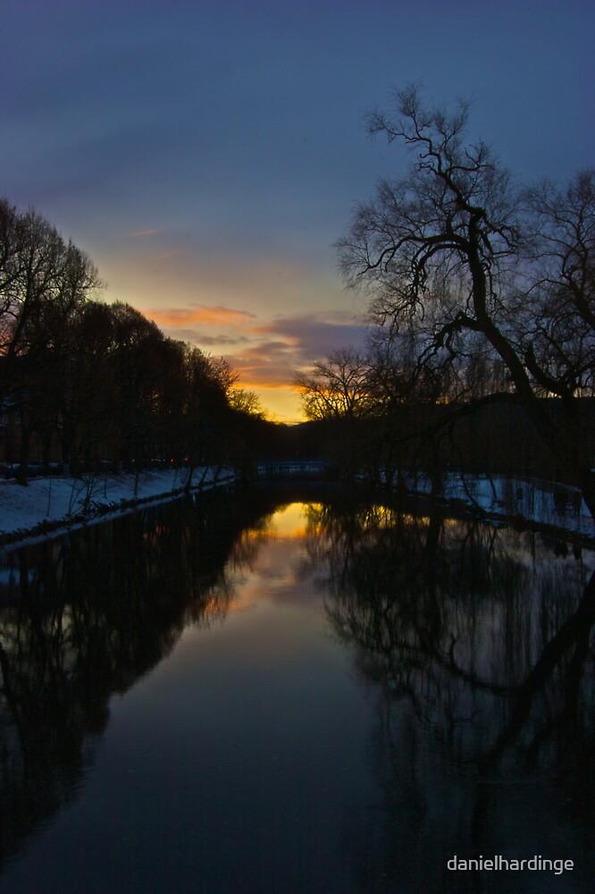 Sunset on the Danube by danielhardinge