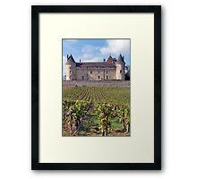 Chateau de Rully Framed Print