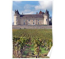 Chateau de Rully Poster