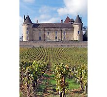 Chateau de Rully Photographic Print