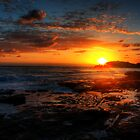 Breaking Dawn, Yamba, NSW by Wendy  Meder