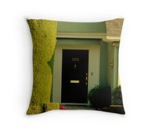 Porches Of The Past Throw Pillow