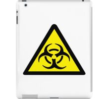 Warning Biohazard iPad Case/Skin