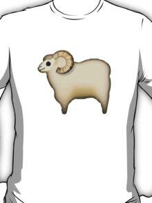 Sheep Apple / WhatsApp Emoji T-Shirt