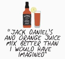 Jack Daniel's and orange juice by frnknsteinn