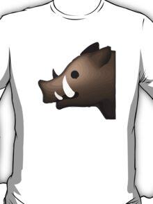 Boar Apple / WhatsApp Emoji T-Shirt