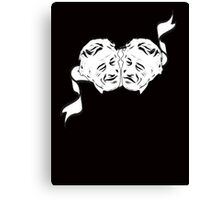 Robert De Niro Comedy and Tragedy Mask -- FUNNY Canvas Print