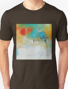 Abstract Blue Orange Art Print Unisex T-Shirt