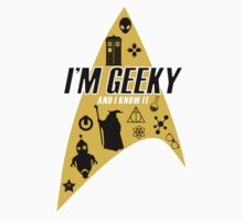 I am Geeky Kids Clothes