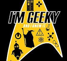 I am Geeky by brucewayne24579