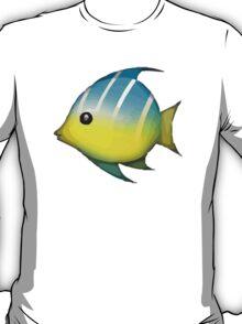 Tropical Fish Apple / WhatsApp Emoji T-Shirt