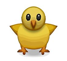 Front-Facing Baby Chick Apple / WhatsApp Emoji by emoji
