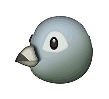 Bird Apple / WhatsApp Emoji by emoji