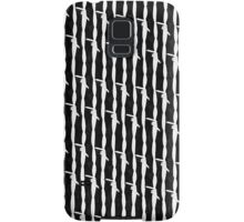 Barbed Wire Pin Stripes Samsung Galaxy Case/Skin