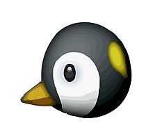 Penguin Apple / WhatsApp Emoji by emoji