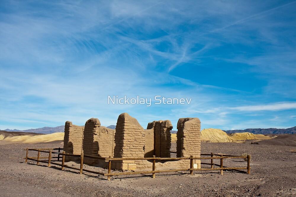 Old Borax Mine Site by Nickolay Stanev